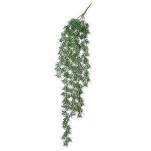 《 造花 グリーン 》◆とりよせ品◆Asca アスパラガスファーンハンギングブッシュ グリ-ンインテリア