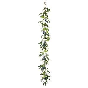 《 クリスマス 造花 ガーランド 》◆とりよせ品◆Asca ユーカリコットンミックスガーランド ガーランド