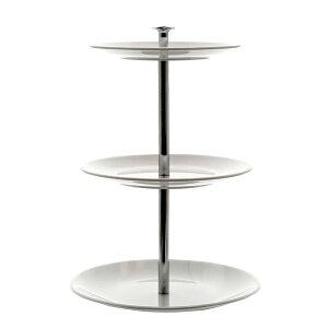 《 アレンジベース 》◆とりよせ品◆Clay cake stand(ケーキ・スタンド) WHITE 1箱(1点入り)