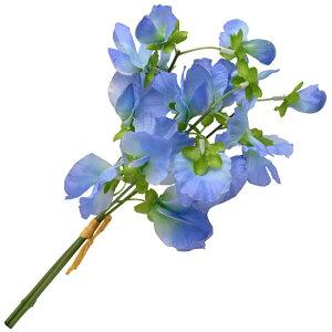 《 造花 》◆とりよせ品◆Parer スイートピーバンドル ブルー(1束3本) インテリア インテリアフラワー フェイクフラワー シルクフラワー インテリアグリーン フェイクグリーン アートフラワ