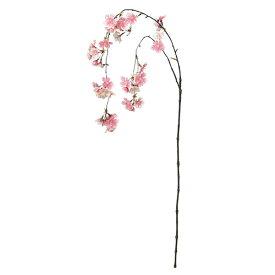 《 造花 》Asca/アスカ しだれ桜×45 ピンクホワイト桜 チェリーブロッサム