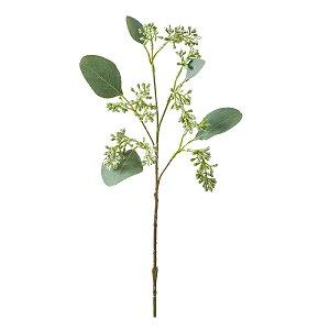 《 造花 グリーン 》◆とりよせ品◆花びし ユーカリベリー ホワイト/グリーンインテリア
