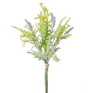 《 造花 》◆とりよせ品◆花びし フィールドラベンダーの束 ミックスハーブ インテリア