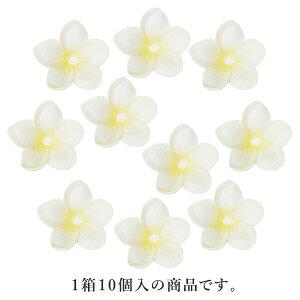 《 造花 》◆とりよせ品◆Poppy プルメリアヘッド(1セット12箱入り) ホワイトレイ