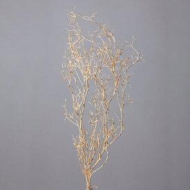 《 プリザーブドフラワー 》★即日出荷★大地農園 ヴェスペネスト・プリザーブド 枝 花材 材料 スワッグ ブーケ ゴールド