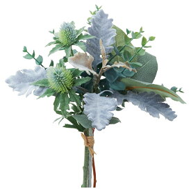 《 造花 グリーン 》◆とりよせ品◆Asca ミックスグリーンバンチ グリーンインテリア