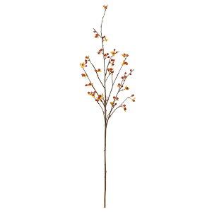 《 造花 グリーン 》◆とりよせ品◆Asca(アスカ) ビタースイートスプレー オレンジインテリア フェイク グリーン パーツ インテリアフラワー フェイクフラワー シルクフラワー インテリアグ