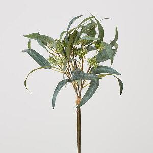 《 造花 グリーン 》◆とりよせ品◆花びし ユーカリバンドル(5本1束) グリーン/グレイインテリア