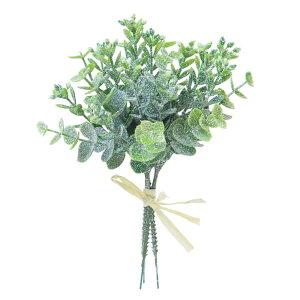《 クリスマス 造花 葉っぱ 》◆とりよせ品◆Viva スノーフレークユーカリバンドル リーフ
