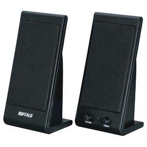 バッファロー USB電源スピーカー BSSP01UBK (ブラック)