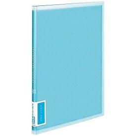 コクヨ クリヤーブック(A4サイズ・固定式/縦10枚ポケット・ブルー) ラ‐V10B (ブルー)