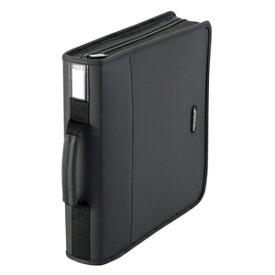 エレコム CD/DVDファスナーケース(160枚収) CCD‐SS160BK (ブラック)