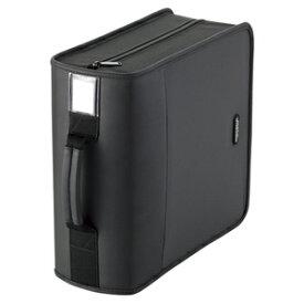 エレコム CD/DVDファスナーケース(320枚収) CCD‐SS320BK (ブラック)