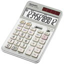 シャープ 実務電卓(ナイスサイズタイプ・12桁) EL‐N942C‐X(送料無料)