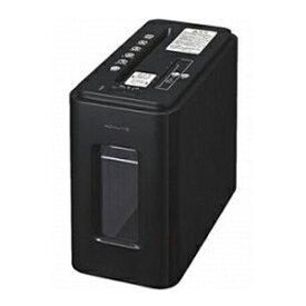 コクヨ デスクサイドクロスカットシュレッダー「サイレント・デュオ」(A4サイズ) KPS‐MX100D (アーバンブラック)