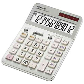 シャープ 実務電卓(セミデスクトップタイプ・12桁) CS‐S952C‐X