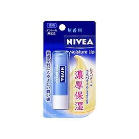花王 NIVEA(ニベア) モイスチャーリップ 無香料 3.9g 〔リップクリーム〕