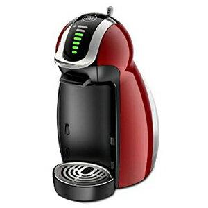 専用カプセル式コーヒーメーカー「ドルチェグスト・ジェニオ2・プレミアム」 MD9771‐WR (ワインレッド)