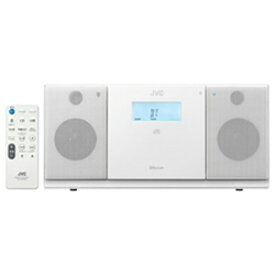 JVC・ビクター CDラジオ(ラジオ+CD) 「ワイドFM対応」 NXPB30W (ホワイト)