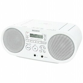ソニー CDラジオ ZS‐S40(W)(ホワイト)