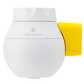 東レ 蛇口直結型浄水器 「waterball(ウォーターボール)」 WB600B‐Y (ホワイト/イエロー)