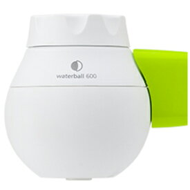 東レ 蛇口直結型浄水器 「waterball(ウォーターボール)」 WB600B‐G (ホワイト/グリーン)