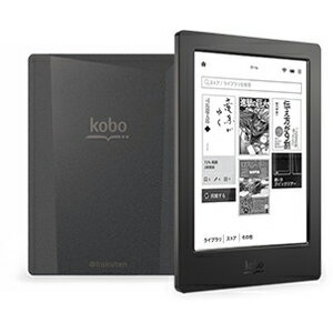 楽天 電子書籍リーダー kobo aura H2O N250‐KJ‐BK‐S‐EP (ブラック)(送料無料)