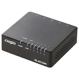 エレコム 1000BASE−T対応 スイッチングハブ 5ポート EHC‐G05PA‐B‐K (ブラック)
