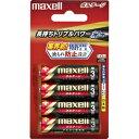 マクセル 「単3形乾電池」アルカリ乾電池×4本 「ボルテージ」 LR6‐T‐4B