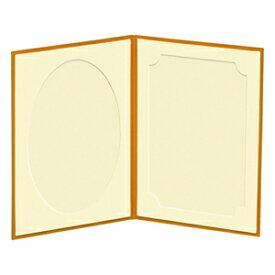 ハクバ お手軽写真台紙 ランス 2面 タテ (L/オレンジ) 656244