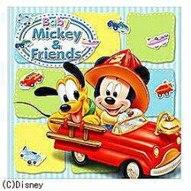 フジカラー 写真台紙 ベビーミッキー&フレンズ (6切判) シャシンダイシ6ギリBミッキー&F