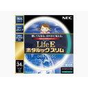 NECライティング 丸形スリム蛍光灯 「LifeEホタルックスリム」(34形・昼光色)  FHC34ED‐LE‐SHG
