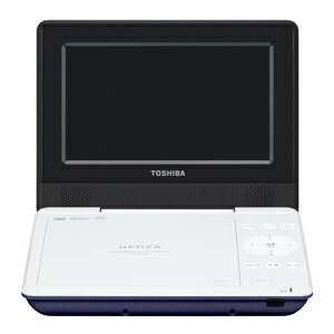 東芝 ポータブルDVDプレーヤー SD‐P710S‐L (ブルー)(送料無料)