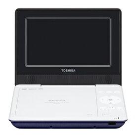 東芝 ポータブルDVDプレーヤー SD‐P710S‐L (ブルー)