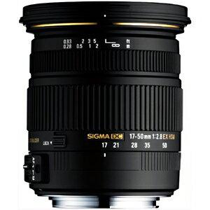 シグマ 標準レンズ ペンタックス用 17‐50mm F2.8 EX DC HSM(ペンタックス用)(送料無料)
