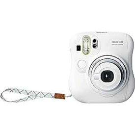富士フイルム インスタントカメラ instax mini 25 『チェキ』 ホワイト 純正ハンドストラップ付き INS MINI 25 WT N
