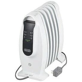 デロンギ ミニオイルヒーター [〜3畳まで/500W] NJ0505E (ピュアホワイト+ブラック)
