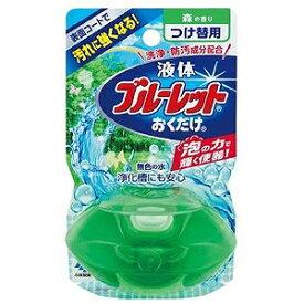 小林製薬 液体ブルーレットおくだけ 森の香り 無色の水 つけ替用 エキタイブルーレットカエモリ70ML