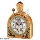 リズム時計工業 目覚まし時計「となりのトトロ」 4RA455MN06