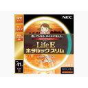 NECライティング 丸形スリム蛍光灯 「LifeEホタルックスリム」(41形・電球色) FHC41EL‐LE‐SHG