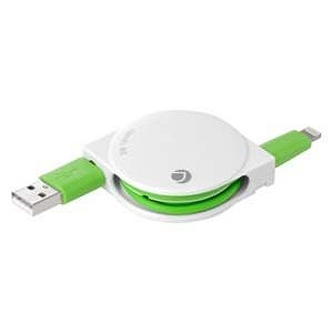 DEFF iPad/mini/iPhone/iPod対応Lightning−USB2.0ケーブル DCA‐RL060WH (バニラホワイト)