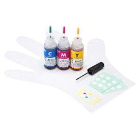 サンワサプライ 「詰替」「キヤノン:BC−311(3色一体型)対応」 つめかえインク INK‐C311S30S