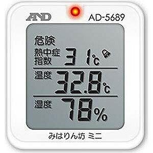 エー・アンド・デイ 熱中症指数モニター「熱中症 みはりん坊ミニ」  AD−5689