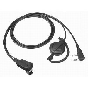 ケンウッド イヤホン付クリップマイクロホン(耳掛けタイプ) EMC‐12