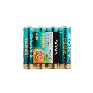 ソニー 「単3形乾電池」 4本 アルカリ乾電池「スタミナ」 LR6SG−4PD
