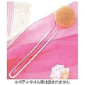 マーナ ウォーターカラー ボディブラシロング B483P (ピンク)
