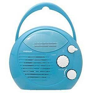 ヤザワコーポレーション シャワーラジオ(ブルー)SHR01BL SHR01BL