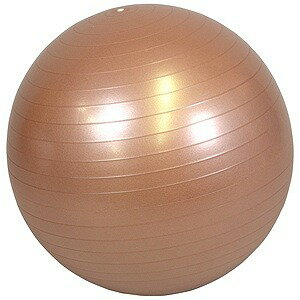 ラッキーウエスト バランスボール YOGA BALL アンチバーストタイプ(ゴールド/φ55cm) LW‐BA327