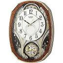 リズム時計工業 電波からくり時計「スモールワールドノエルM」  4MN513RH23(送料無料)