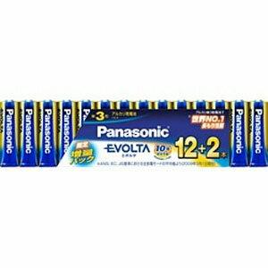 パナソニック 「単3形乾電池」 14本 アルカリ乾電池「エボルタ」 LR6EJSP14S